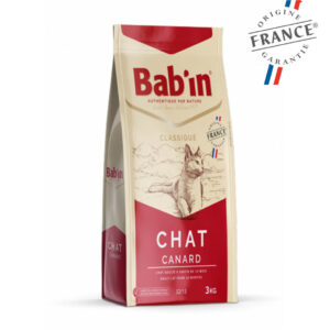 Bab'in Chat Adulte Gamme Classique Canard