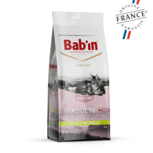 Bab'in Chat Adulte Saumon Gamme Signature