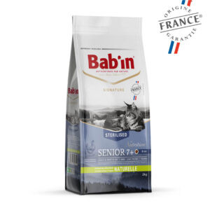 Bab'in Chat Senior 7 ans+ Gamme Signature