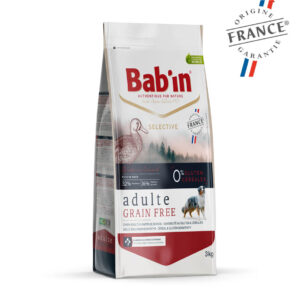 Bab'in Chien Adulte Grain Free Canard Gamme Selective