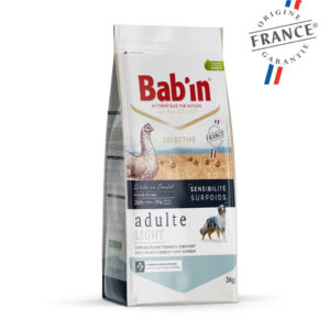 Bab'in Chien Adulte Light Sensitive Poulet Gamme Selective
