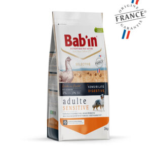 Bab'in Chien Adulte Sensitive Poulet Gamme Selective