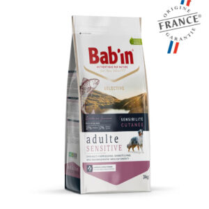 Bab'in Chien Adulte Sensitive Saumon Gamme Selective