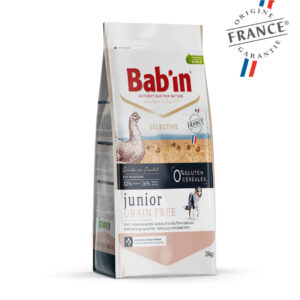 Bab'in Chien Junior Grain Free Poulet Gamme Selective