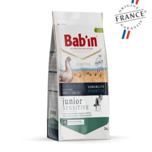 Bab'in Chien Junior Sensitive Poulet Gamme Selective