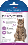 Fiprovet Duo 50 mg/60 mg - Solution pour spot-on chat x2