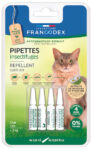 Pipettes antiparasitaires répulsives chat Francodex