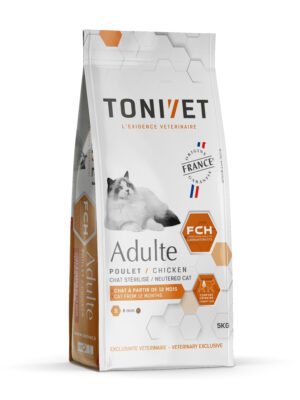 Tonivet Chat Adulte Poulet